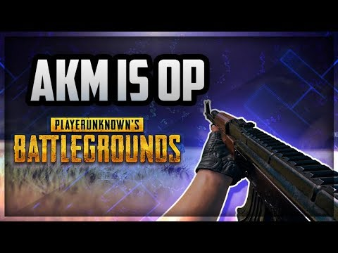 AKM Is God Gun in PUBG Mobile