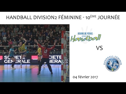 Handball D2F 10e journée BDP YUTZ 04 02 2016