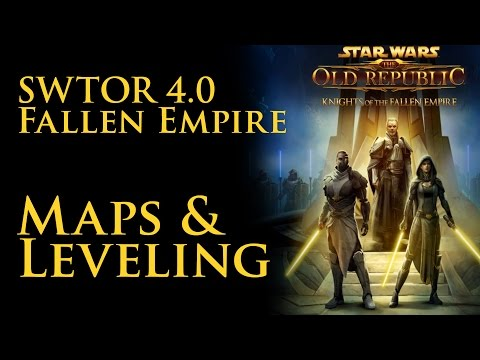 SWTOR: Fallen Empire Leveling and Map Changes