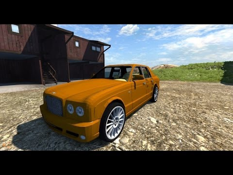BeamNG mod : Bentley Arnage T