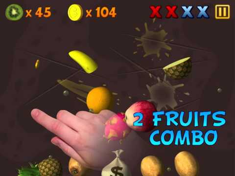 Fruit Slasher 3D gameplay
