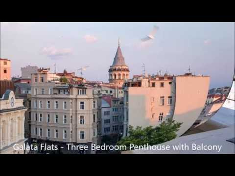 Galata Flats - Three Bedroom Penthouse with Balcony
