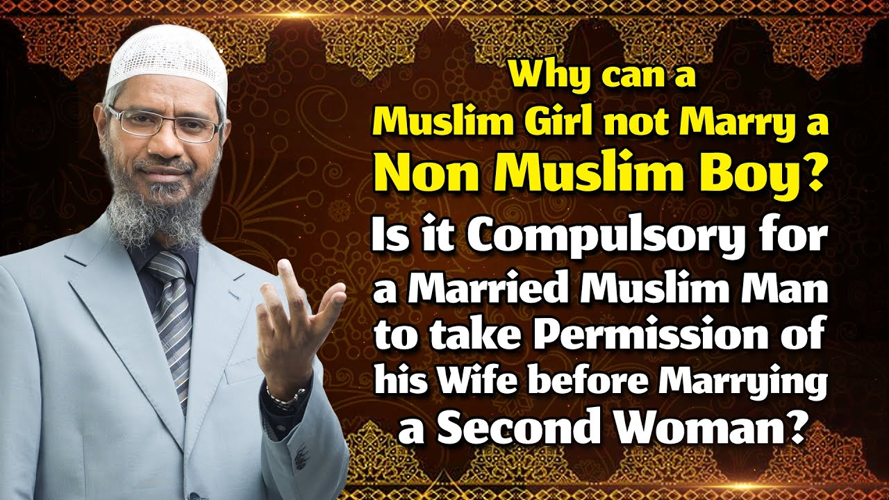 Why Can A Muslim Girl Not Marry A Non Muslim Boy Is It -6645