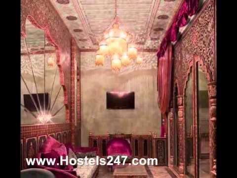 Riad Palais Mumtaz Mahal in Essaouira Morocco Video from Hostels247.com