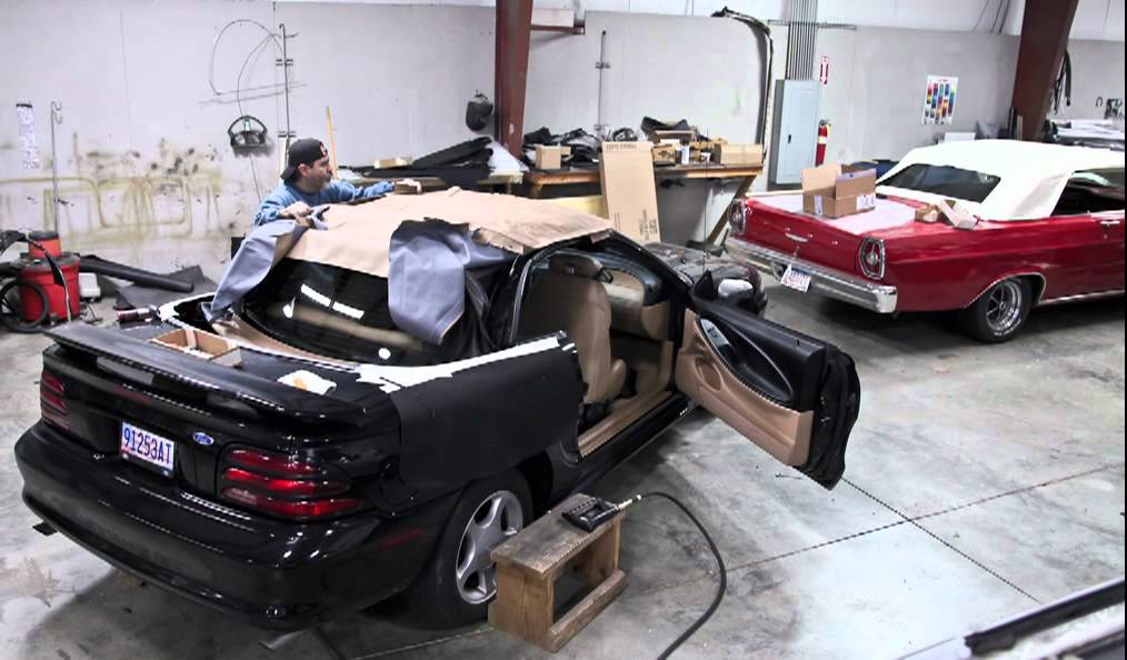 Ford Mustang Convertible Top Install Youtube