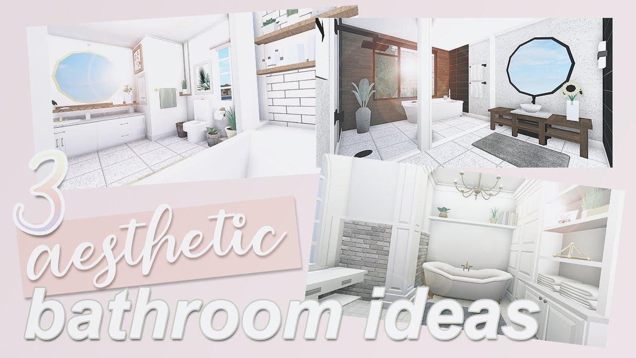 Adopt Me Roblox Bathroom Ideas 3 Aesthetic Bathroom Ideas Roblox Bloxburg Youtube