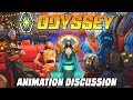 Welcome Aboard: Odyssey - a lot of delightful loose ends || Animation discussion & analysis
