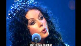 Sarah Brightman Time to say goodbye subtitulada