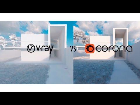 Vray vs Corona