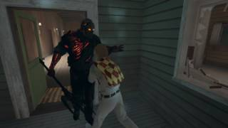 Savini Jason attacks us in Friday the 13th: The Game