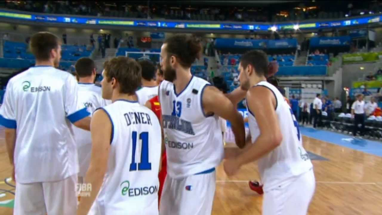 Highlights Italy-Spain EuroBasket 2013