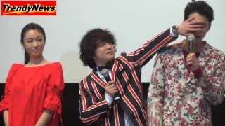 ダブル主演映画「偉大なる、しゅららぼん」に出演している、 岡田将生さ...