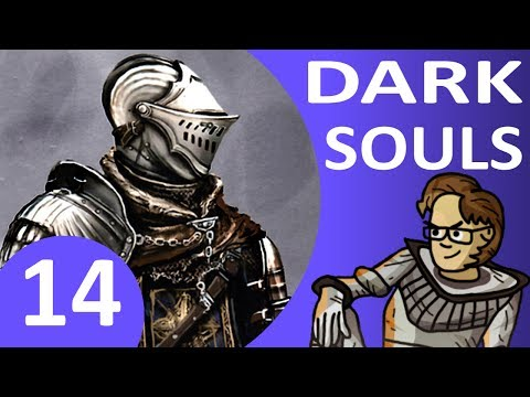 Let's Play Dark Souls Part 14 - Four Kings Boss, Summon Witch Beatrice, Darkstalker Kaathe