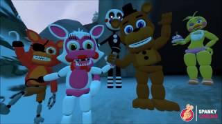 FNAF Best Top 5 Five Nights at Freddy's Animations Compilation [SFM FNAF Animation]