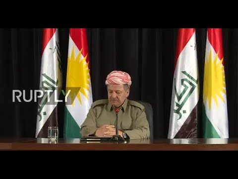 LIVE: Barzani holds press conference ahead of referendum