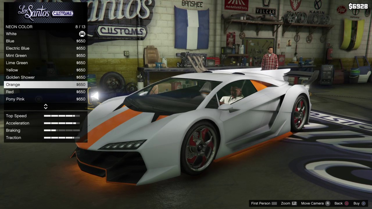 Pegassi Zentorno location for Gta 5 story mode Free - YouTube