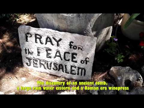 There are two places In Jerusalem that represent the tomb of Jesus -  the story of the Garden Tomb
