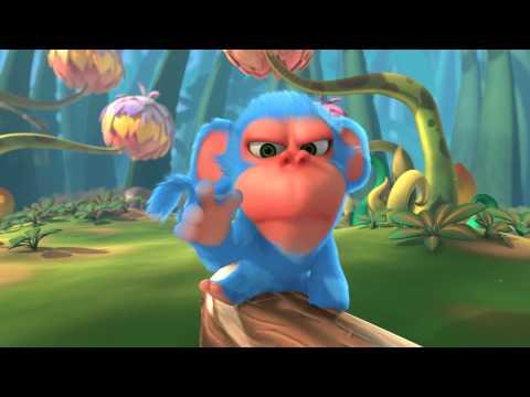 Animation Movie - Short 3D Cartoon : Monkaa Film Trailer
