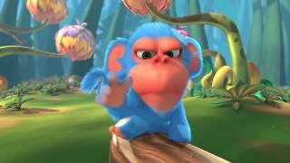Film d'Animation - Court 3D Cartoon : Monkaa Film Trailer
