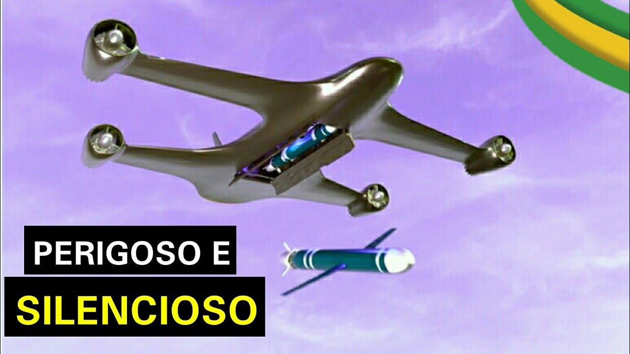 TUPAN 300 - O poderoso drone de ataque Brasileiro