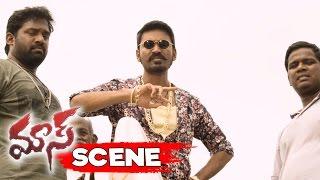 Dhanush Attacks Referee For Blaming His Pigeons - Action Scene - Maari Movie Scenes