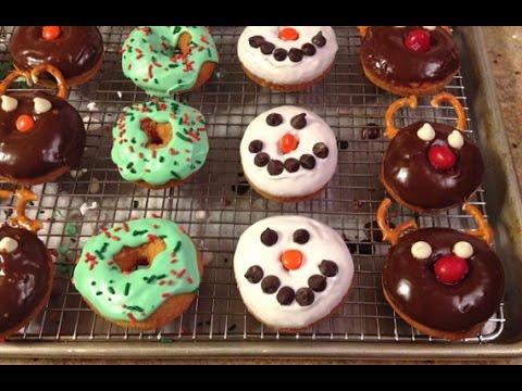 Sweet Donuts decorating ideas + creative glaze - YouTube - photo#5
