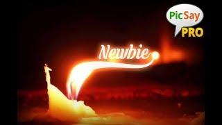 Tutorial cara membuat api berbentuk nama dengan picsay pro