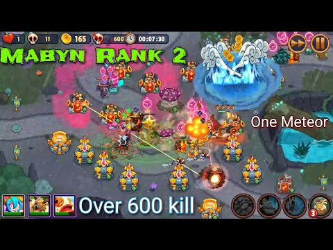 Realm Defense Tournament Over 600 Kill With One Meteor - Mabyn Rank 2