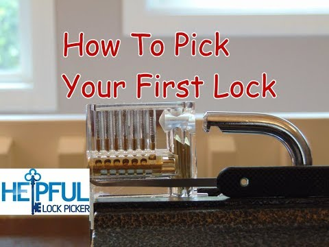 [111] Comprehensive Overview On How To Pick Your First Lock -- Master Standard Pins