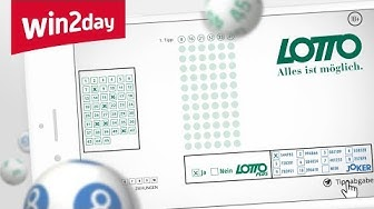 Lotto 6 aus 45 auf win2day – Tutorial