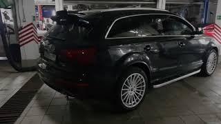 Audi Q7 exhaust sound 3.0 TDI Stage2 AGPmotorsport