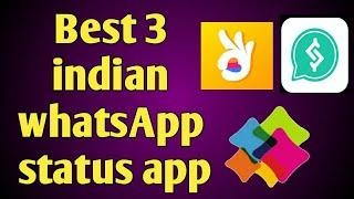 best 3 WhatsApp status app | indian WhatsApp status app | WhatsApp status download