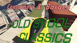 GTAO:   Real Cunning Stunts:  STUN Showcase Special:  Containers & Barges