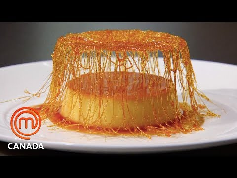 How To Make A Crème Caramel | MasterChef Canada | MasterChef World