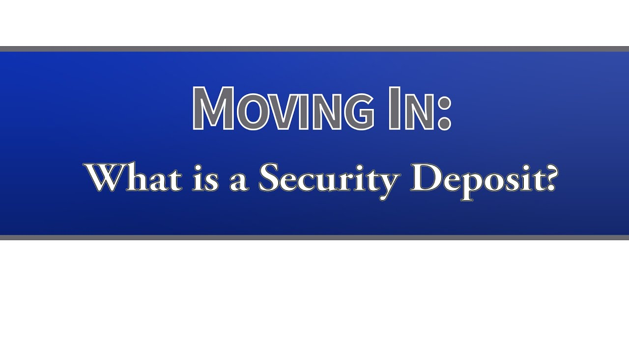 Security Deposits in Wisconsin - Tenant Resource Center