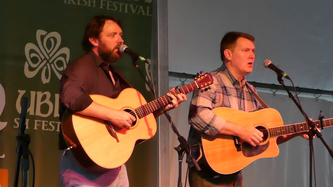 Rory Makem And Donal Clancy At Dif 2017 The Dutchman