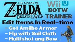 """How to Use """"BOTW Trainer"""" to Edit Items, Mod Weapons & get Amiibo Armour - Zelda: Breath of the Wild"""