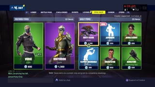 FORTNITE 2 Days til Season 8, Item Shop Update & Playing With Subs! (USE CODE: OUTSIDER_JR)