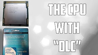 The CPU With $50 Downloadable Content | Paying Extra For Hyper Threading