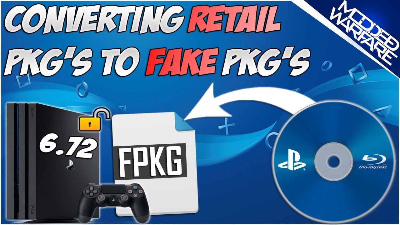 (EP 6) Backing up Retail Games to Fake Pkg's (6.72 or Lower)
