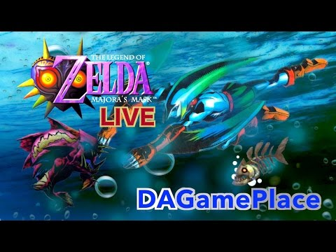 INTO THE BAY!!! - Majora's Mask #4