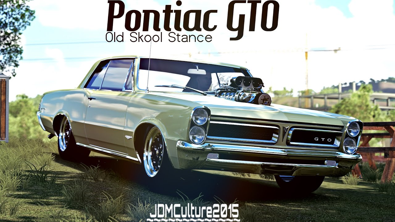 Forza Horizon Old Skool Stance Pontiac Gto Dawn Of The