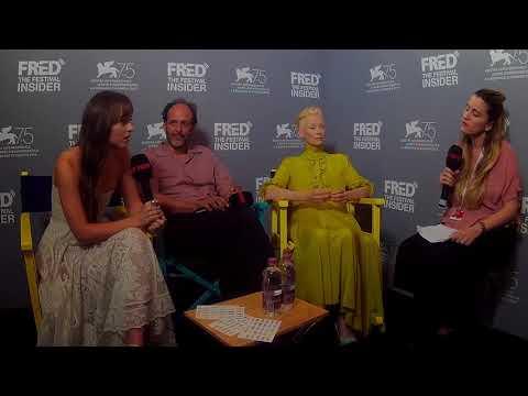 Luca Guadagnino, Dakota Johnson and Tilda Swinton - SUSPIRIA - 75 Venice Film Festival