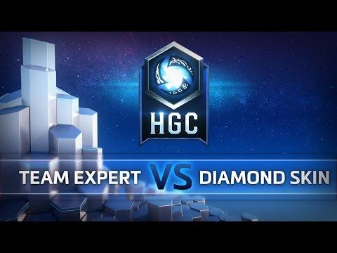 Diamond Skin vs Expert - HGC EU Group Play - G1
