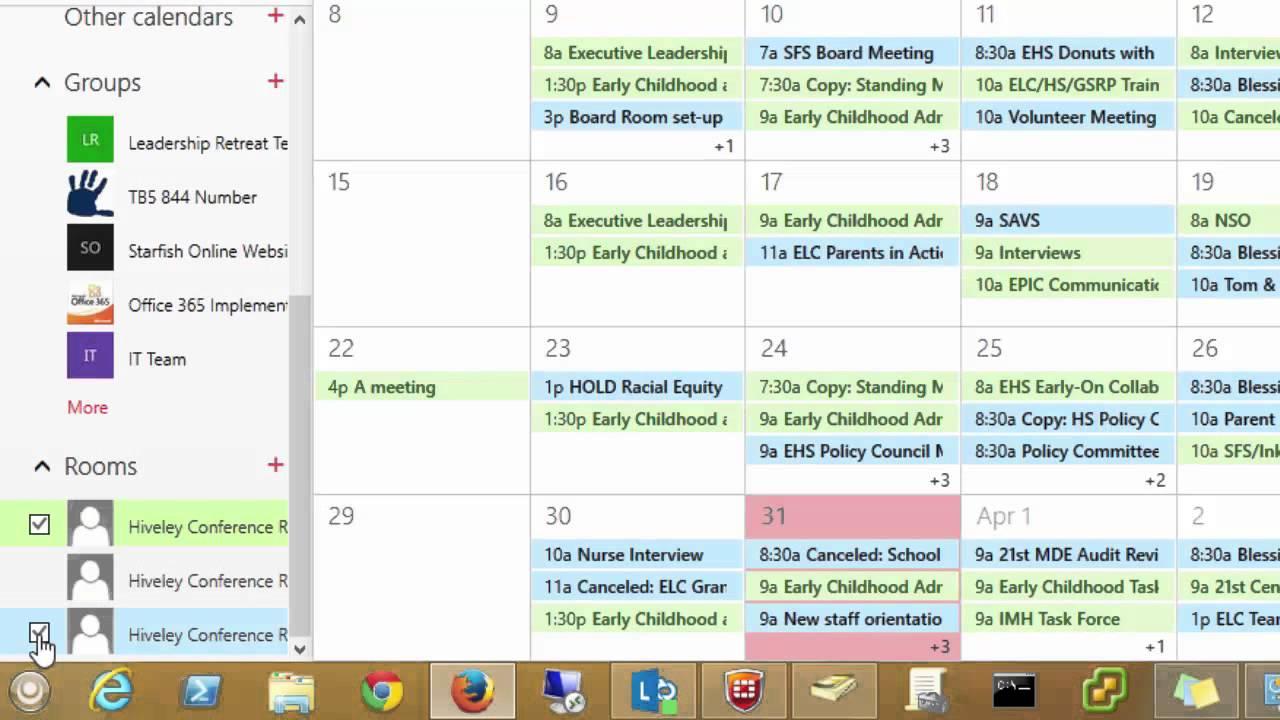 ms office scheduler