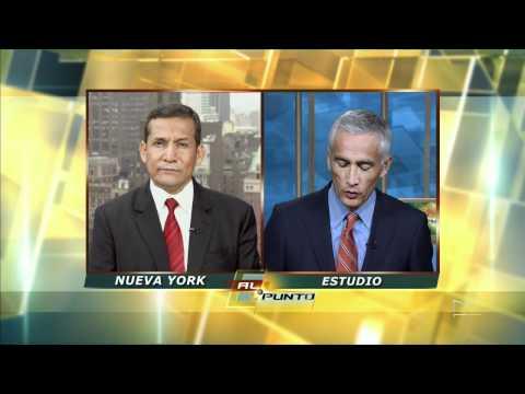 Jorge Ramos interview with Ollanta Humala