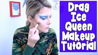DRAG ICE QUEEN MAKEUP TUTORIAL // Grace Helbig