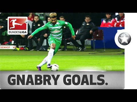 Serge Gnabry - All Goals 2016/17...So Far