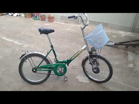 Велосипед с шуруповертом своими руками видео