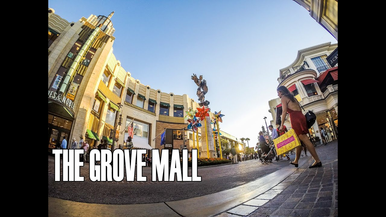 Address: The Grove Drive Los Angeles, CA () Get directions The Apple Store is located in The Grove lifestyle center, near the fountain and facing Pacific Theatres.